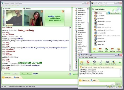 Free Chat Room by Free Camfrog Camfrog 3 72