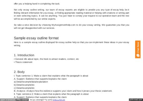 Essay Maker by Essay Outline Maker