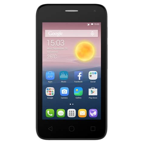 mobile 3g phone alcatel onetouch pixi 4024e 3g 850 2100