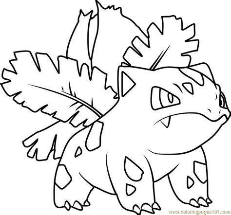 pokemon coloring pages ivysaur ivysaur pokemon coloring page images pokemon images