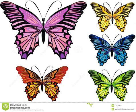 Vlinders Royalty vrije Stock Afbeeldingen   Afbeelding