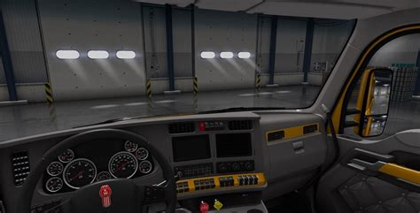 kenworth t680 paint interior for ats american truck simulator mod ats mod