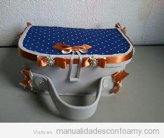 como hacer maleta de foami paso a paso maleta de mano muy bonita de goma eva paso a paso
