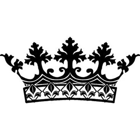 printable black and white crown crown black and white cliparts co