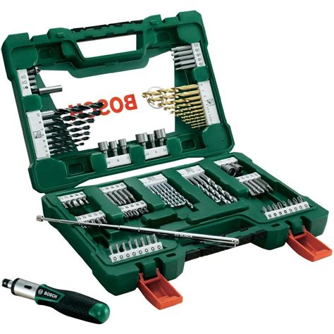 Bor Black N Decker universal drill bit set tin 91 bosch accessories v