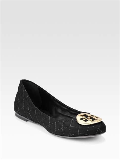 Burch Quilted Flats by Burch Reva Quilted Ballet Flats In Black Lyst