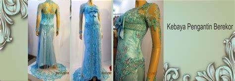 Kebaya Pengantin Berekor amiefa boutique