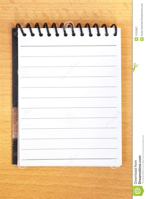 open notebook page royalty free stock photography image