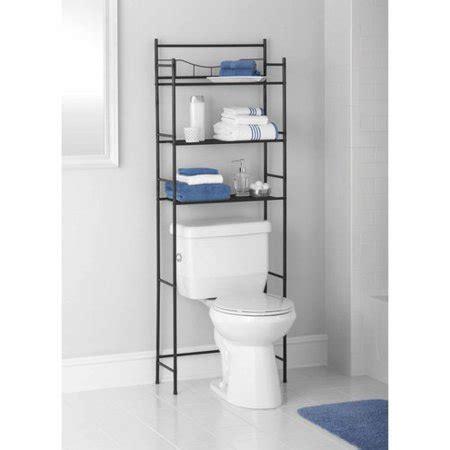 bathroom shelves walmart mainstays 3 shelf bathroom space saver rubbed bronze