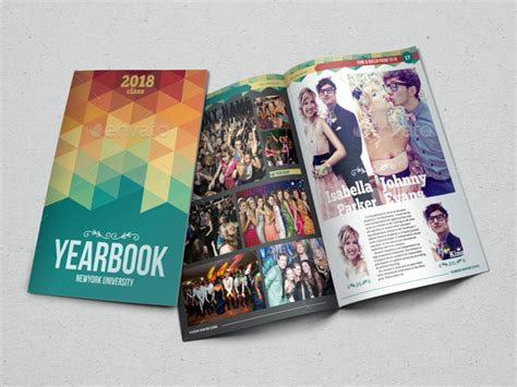 Yearbook Template Design Vol 1 By Hiro27 Graphicriver Yearbook Template Powerpoint