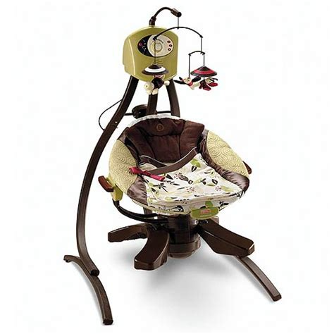fisher price zen cradle swing our blue green nursery is done