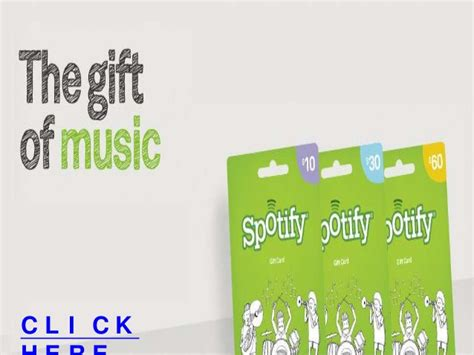 Where To Get Spotify Gift Cards - free spotify gift cards spotify premium gift codes