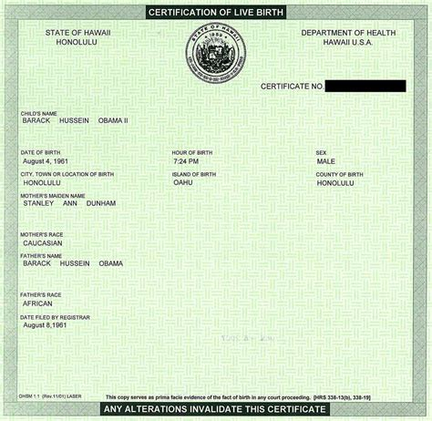 Birth Record Vs Birth Certificate Arizona Birther Obama S Birth Certificate Vs Mine Rescue