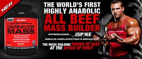 Suplemen Carnivor Mass musclemeds carnivor mass 6 lbs osborn