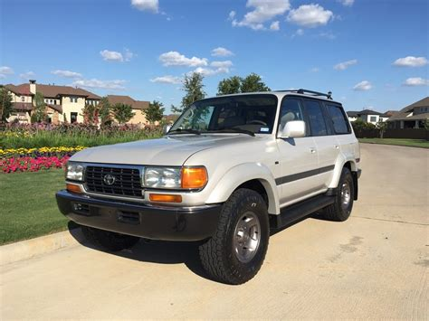 toyota land cruiser 1997 1997 toyota land cruiser collectors edition fj80 sold