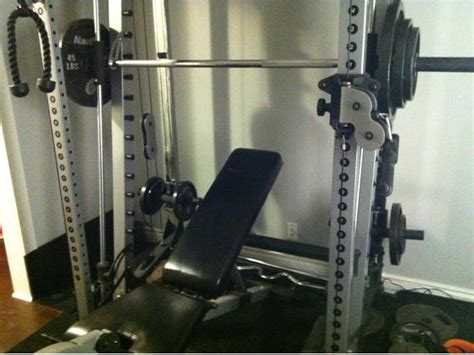 nautilus smith machine with cable crossover south