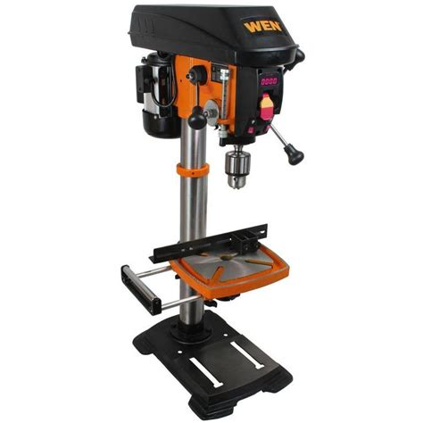 ridgid 14 in bandsaw r474 the home depot wen 12 in variable speed drill press home the o jays