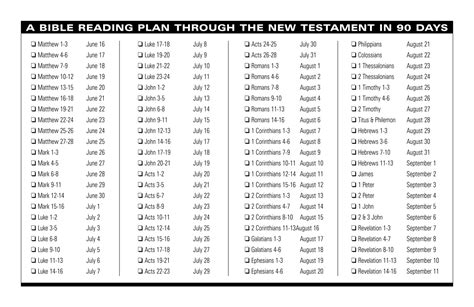 printable plan for reading the bible in a year 5 best images of printable bible reading guide daily
