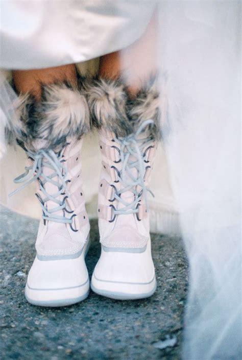 Schuhe Winter Hochzeit by 30 Schicke Winter Hochzeit Schuhe Und Stiefel Ideen