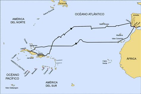 que barco de cristobal colon se hundio mapping columbus s first voyage lee low blog