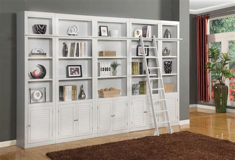 wall library boca 5 piece library wall unit from parker house boc 420