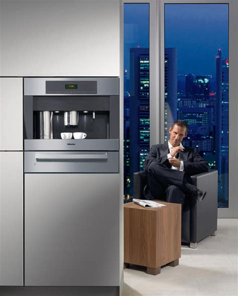 Miele Plumbed Coffee Maker by Miele Cva4066 24 Quot Built In Whole Bean Coffee System
