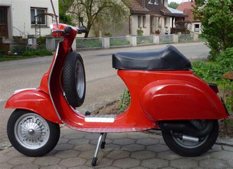 Vespa Roller Lackieren Kosten by Vespa V50 Spezial In Der Lackierung Ral 3001 Signalrot