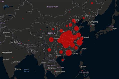 coronavirus map lets  track global outbreak