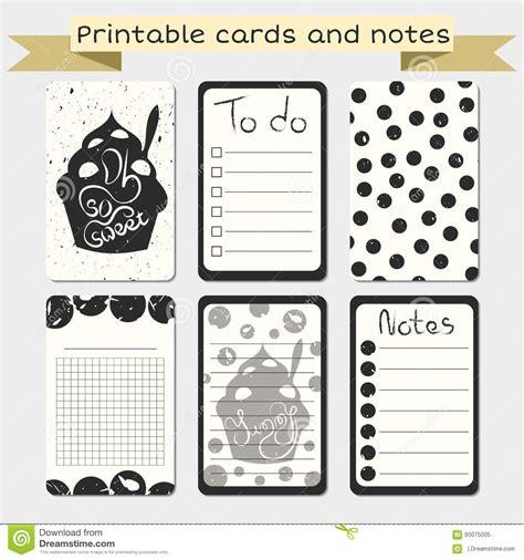 diarios de motocicleta notas b0098p9l4o printable journaling cards notes designs stock vector illustration of decorative grunge