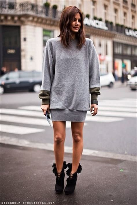Dress Model Casual Simple Style Gray Black Impor shoes high heels black jumper grey sweater style style model