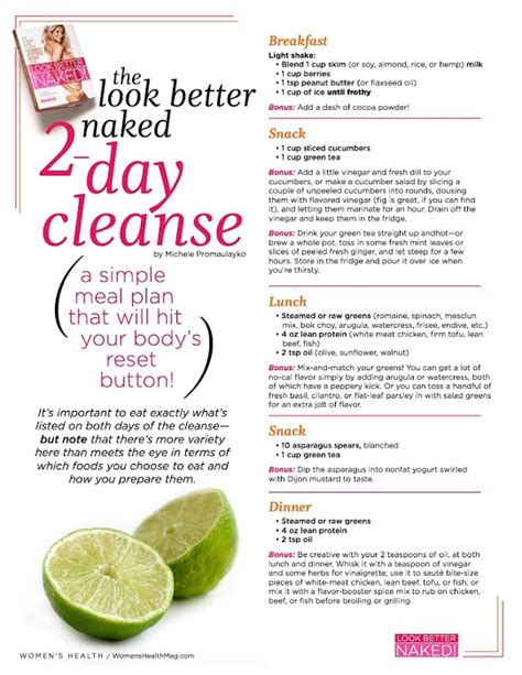A Cheap Detox Diet Plan by 2 Day Cleanse To Reboot Your Weight Loss Tips