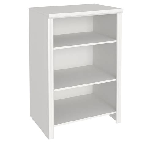 closetmaid wood shelf closetmaid impressions 19 66 in x 25 in white wood