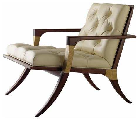 Athens lounge chair tufted baker furniture traditional