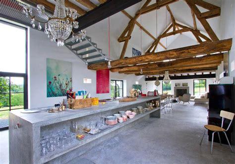 Superb Renovating A Barn Into A House #4: Rustic_modern_concrete_interior_design_2_ideas.jpg