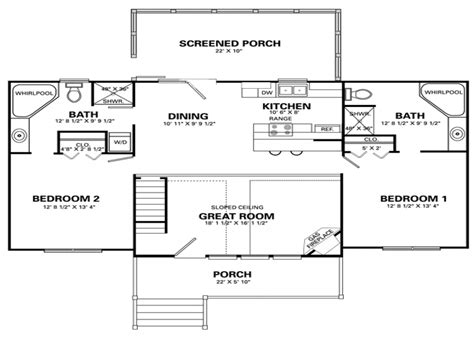 simple 4 bedroom house floor plans simple house designs 2 bedroom cabin floor plans mexzhouse com