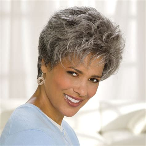 short salt and pepper hair cancer patients wigs chemo wigs short wigs black wigs