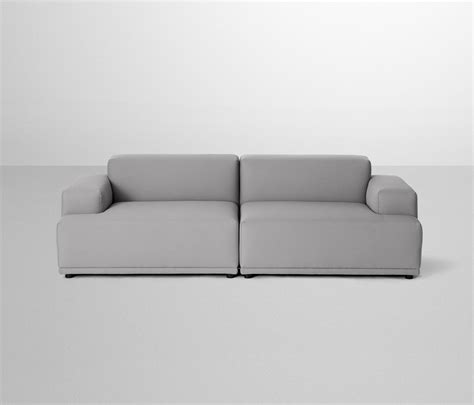 how to connect sectional sofa together connect sofa 2 seater lounge sofas from muuto architonic