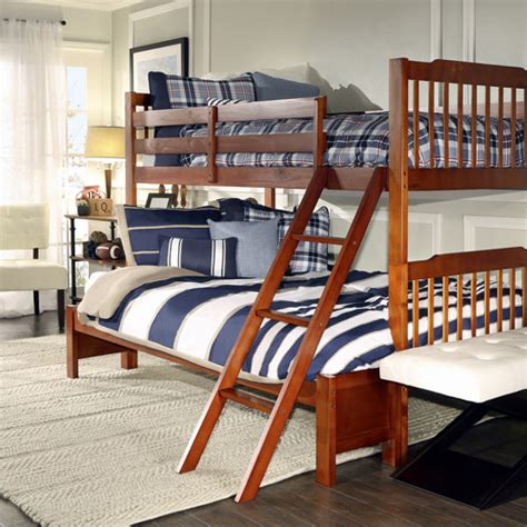 twin over full bunk bed walmart elise twin over full bunk bed mahogany walmart com