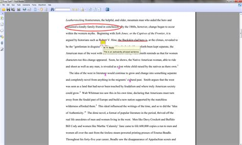 Pagination Essay by Electronic Annotation Of Student Essays Without Grademark
