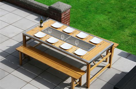 Grill Table by Barbecue Table
