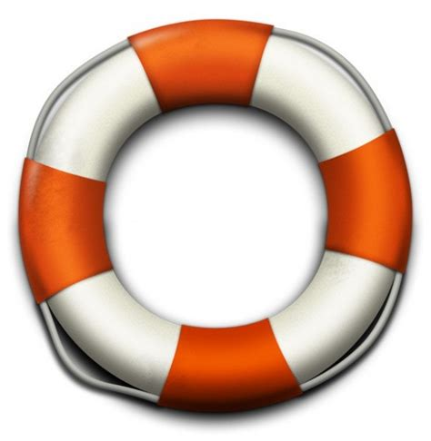 realistic lifebuoy icon set png psd welovesolo