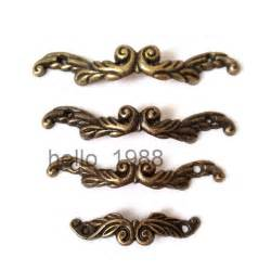 Shell Cabinet Knobs 10pcs Antique Drawer Pull Jewelry Box Handle Little Box