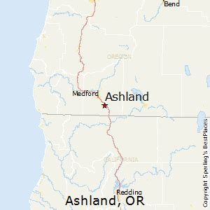 ashland oregon map comparison bend oregon ashland oregon