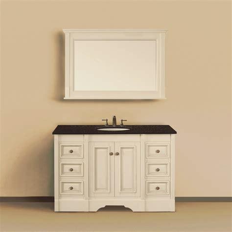 48 inch bathroom vanities 48 inch single sink bathroom vanity with storage