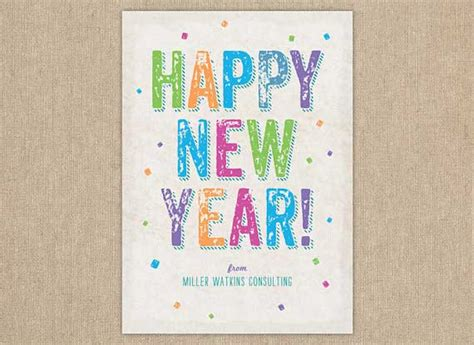 design free new year card new year greeting card designs for kids happy holidays
