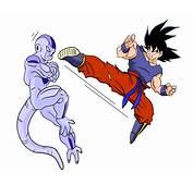 Goku Combatte Contro Feezer