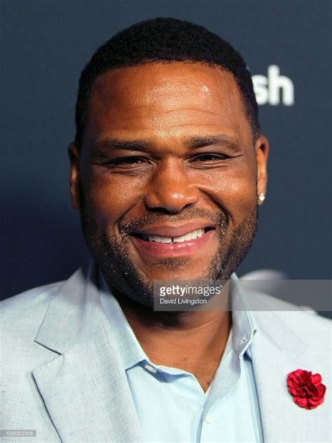 actor anthony fyc event for abc s quot black ish quot arrivals getty images