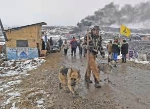 dakota access protesters arrested at csite daily mail