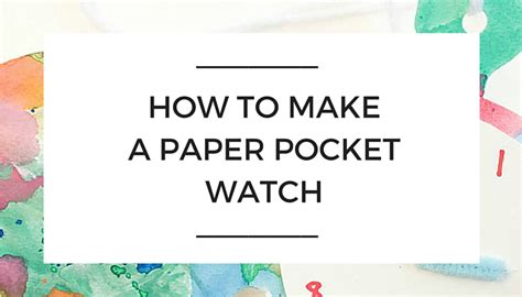 How To Make A Paper Pocket - how to make a paper pocket nanny shecando