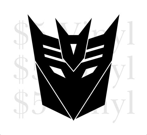 Autobot Decals by Transformers Autobot Decepticon Car Decal Megatron